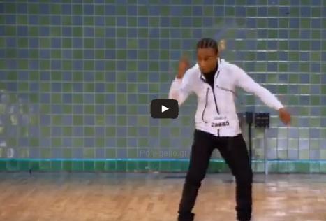 Φοβερή κίνηση robot σε χορευτικό από τον Du-Shaunt Stegall