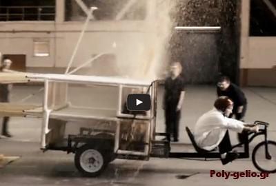 Coca-cola + Mentos Rocket Car