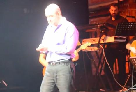Μάρκος Σεφερλής & Βασιλης Παγωνης στο Γυάλινο Μουσικό Θέατρο