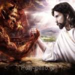 Κουφό ανέκδοτο: Χριστός vs Διάβολος