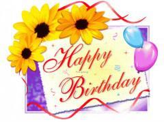 Ευχες για γενεθλια