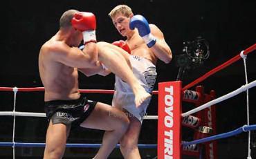Mike Zambidis vs Artur Kyshenko K1 World MAX 2007 World Championship, Quarter Finals