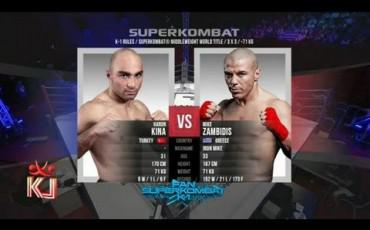 Mike Zambidis Vs Harun Kina 2013 SUPERKOMBAT VIP Edition