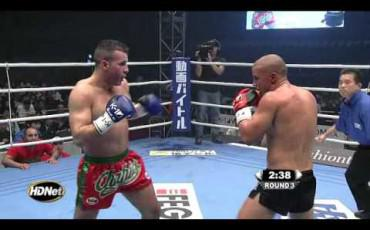 Mike Zambidis vs Chahid Oulad El Hadj K-1 World MAX 2010 Final 16