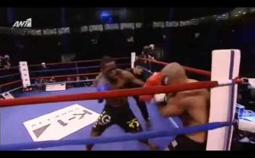 Mike Zambidis vs Murthel Groenhart K1 World MAX 2012 World Championship Tournament Final Semi Finals