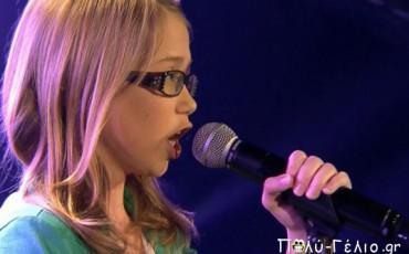 12χρονο κορίτσι τρέλανε του κριτές στο The Voice
