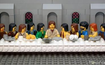 Πασχαλιάτικο Ανέκδοτο: Ο Χριστός με τους Μαθητές παραγγέλνουν σουβλάκια...