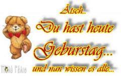 Ευχες για γενεθλια στα Γερμανικα