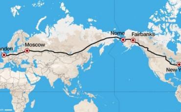 Ετοιμάζεται Αυτοκινητόδρομος Λονδίνο - Νέα Υόρκη 21.000 χλμ