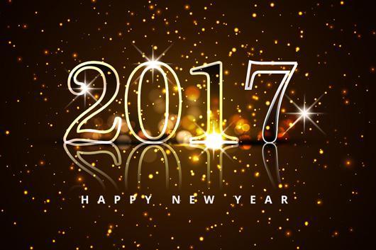 Αποτέλεσμα εικόνας για καρτες για καλη χρονια 2017