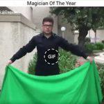 Αστεία εικόνα gif: Ο Μάγος της Χρονιάς !