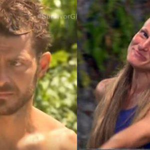 Survivor: Ο Ντάνος κορόιδεψε τη Σάρα και γίνεται χαμός...