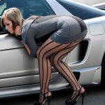 Ανέκδοτο: Άνδρας ταξιδεύει με την Ξανθιά σύζυγό του όταν τους σταματάει η τροχαία…
